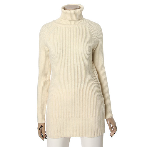 Turtleneck Knit Pullover