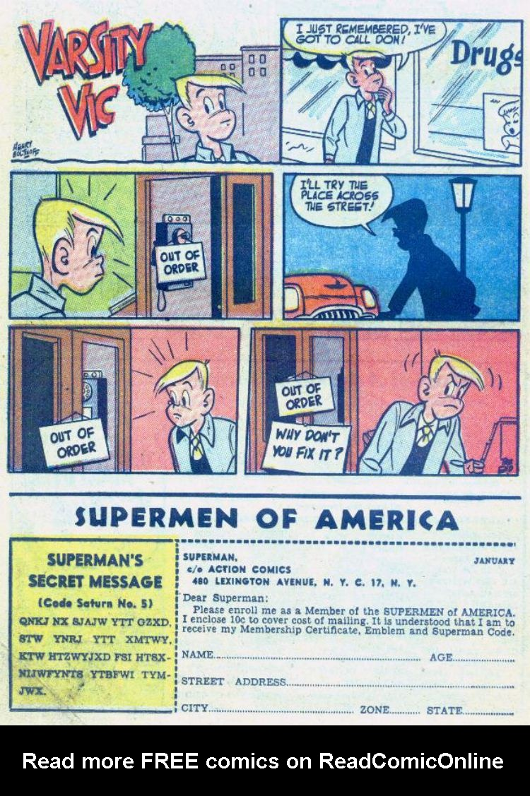 Read online Action Comics (1938) comic -  Issue #176 - 24