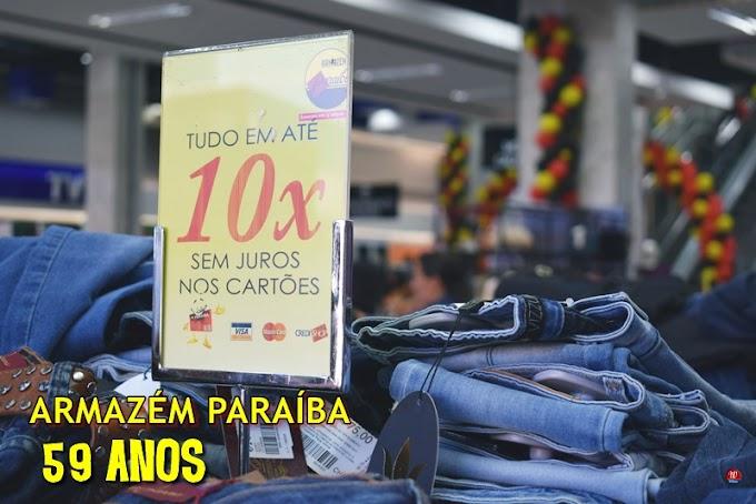 Vem aí o saldo do aniversario Paraíba, dias 30 e 31 de agosto