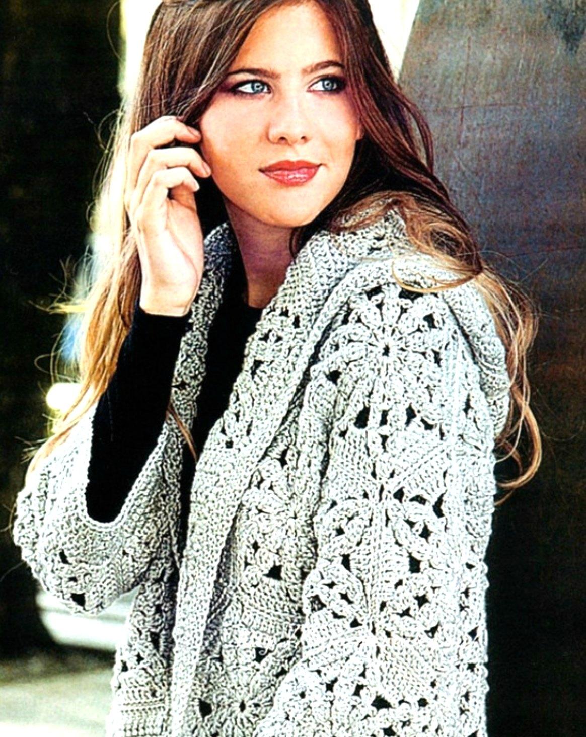 Encantador Patrón Chaqueta Con Capucha Crochet Ideas - Ideas de ...