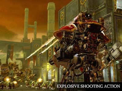 Tampilan Game Warhammer 40,000 Freeblade