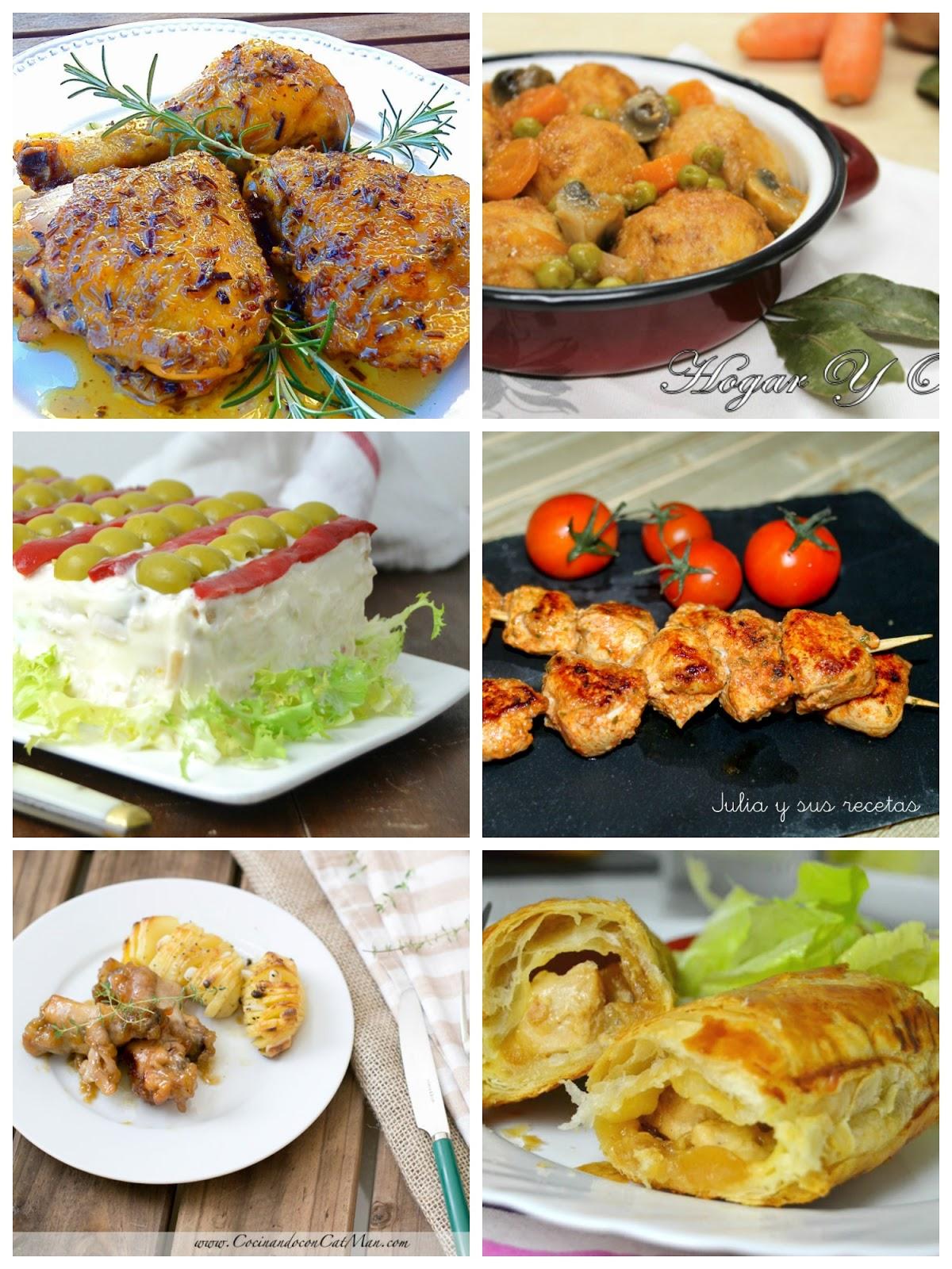 6 recetas f ciles con pollo cuuking recetas de cocina - Comidas con pollo faciles ...