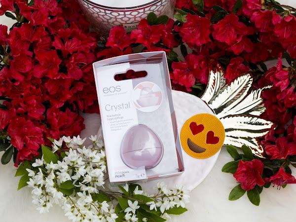 eos Crystal Wachsfreie Lippenpflege für besonders weiche Lippen