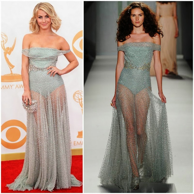 Julianne Hough in Jenny Packham – 2013 Emmy Awards