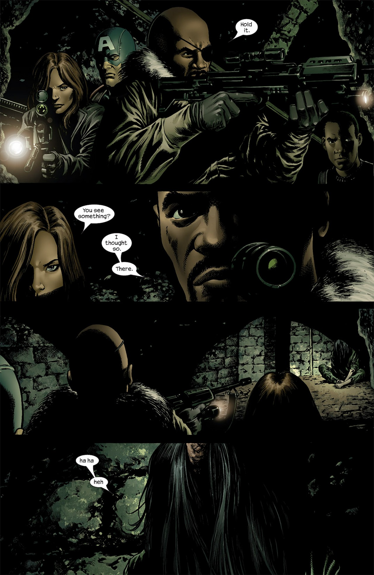 Read online Ultimate Nightmare comic -  Issue #3 - 7