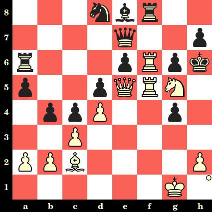 Les Blancs jouent et matent en 4 coups. Leo Fleischmann vs Savielly Tartakower, St Petersbourg, 1909