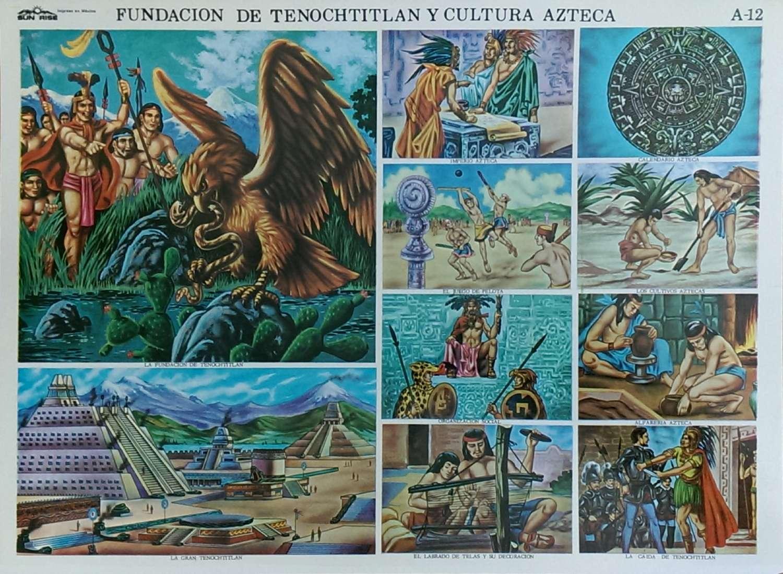 Materiales Escolares Fundación De Tenochtitlan Y La Cultura Azteca