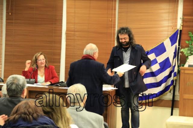 """Νέα διάκριση για τον Βαγγέλη Βαλαχά για το ποίημά του """"Η μοναξιά του Φειδιππίδη"""""""