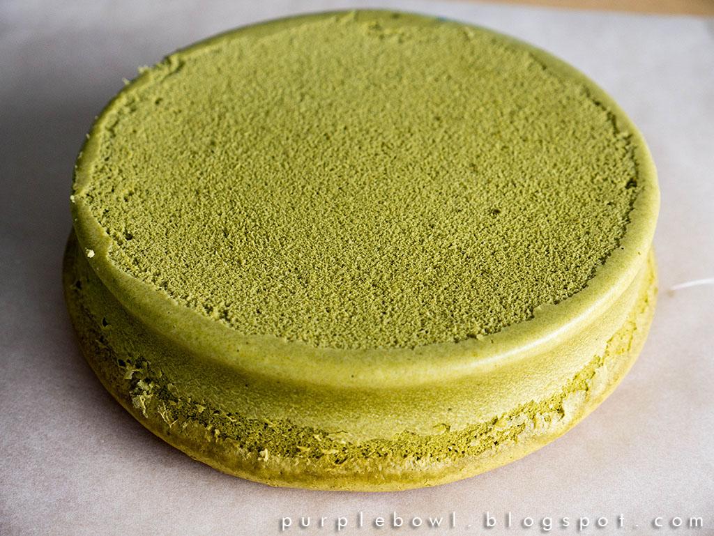 Green Tea Cake Recipe Japanese: Purple Bowl: Japanese Green Tea Cheesecake Recipe