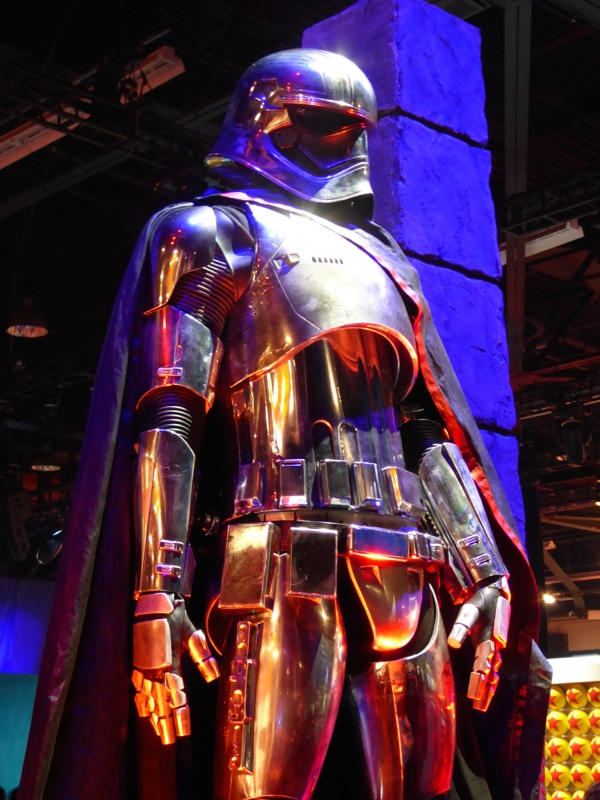 Captain Phasma armor Star Wars The Force Awakens