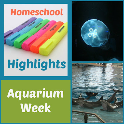 Homeschool Highlights - Aquarium Week on Homeschool Coffee Break @ kympossibleblog.blogspot.com - link up your homeschool posts here each week!