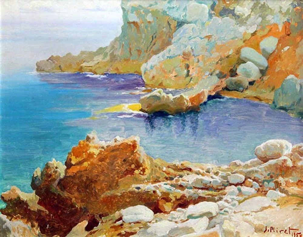 José Miret Aleu, Mallorca en pintura