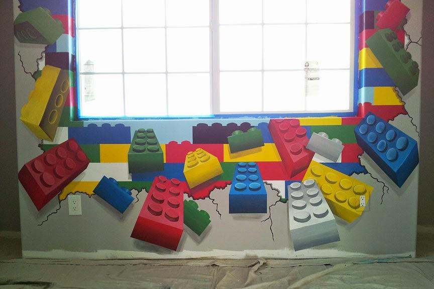 L Star Murals Lego Mania