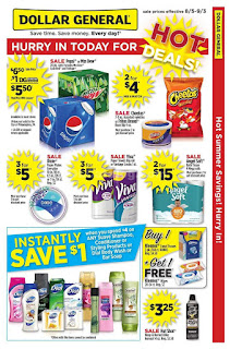 Dollar General Weekly Ad August 12 - 18, 2018