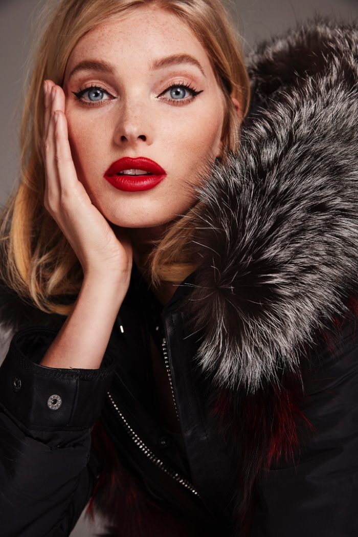 Elsa Hosk for Nicole Benisti Fall/Winter 2018