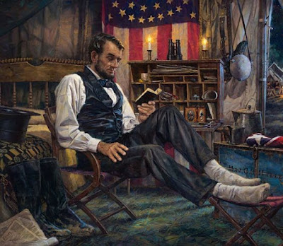 The books Abraham Lincoln Read