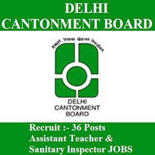 Delhi Cantonment Board, CB Delhi, Ministry of defence, Cantonment Board, CB Delhi Answer Key, Answer Key, cb delhi logo