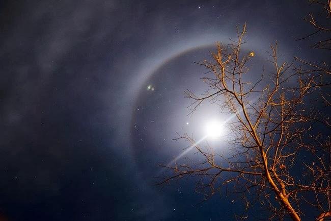 Csodás égi jelenség Salgótarján felett