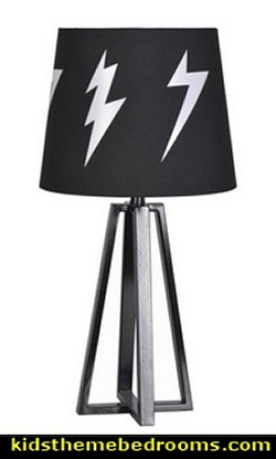 Lightning Bolt Table Lamp