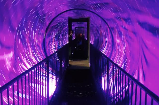 Rotating Tunnel at Museum of Illusions, Kuala Lumpur