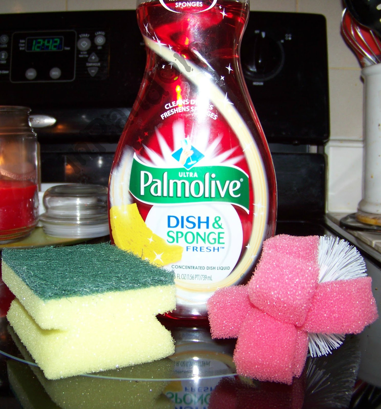 Palmolive Dish Sponge Fresh Soap For Holiday Dishes