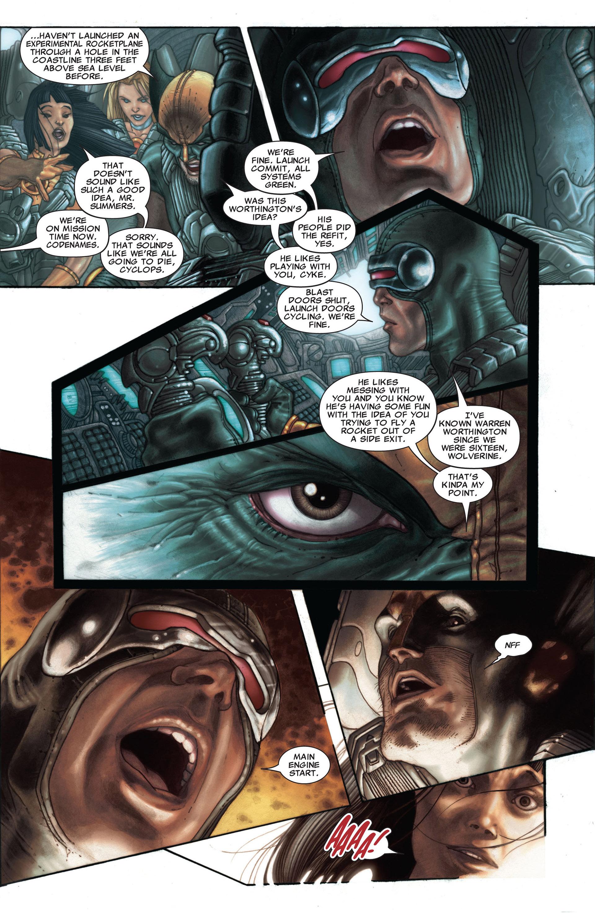 Read online Astonishing X-Men (2004) comic -  Issue #25 - 22