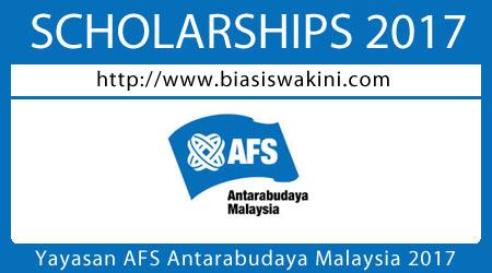 Yayasan AFS Antarabudaya Malaysia 2017