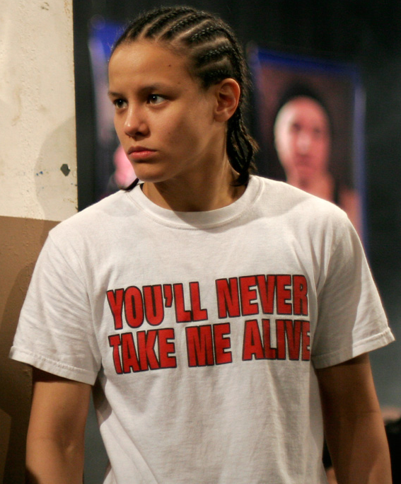 YOU'LL NEVER TAKE ME ALIVE as seen on MMA Fighter Shayna Baszler. PYGear.com
