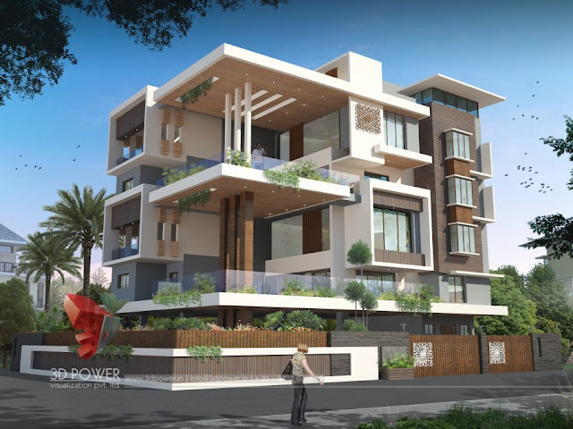 Superior Best House And Apartment Designs | Bungalow U0026 Apartment Renderings Evening  View