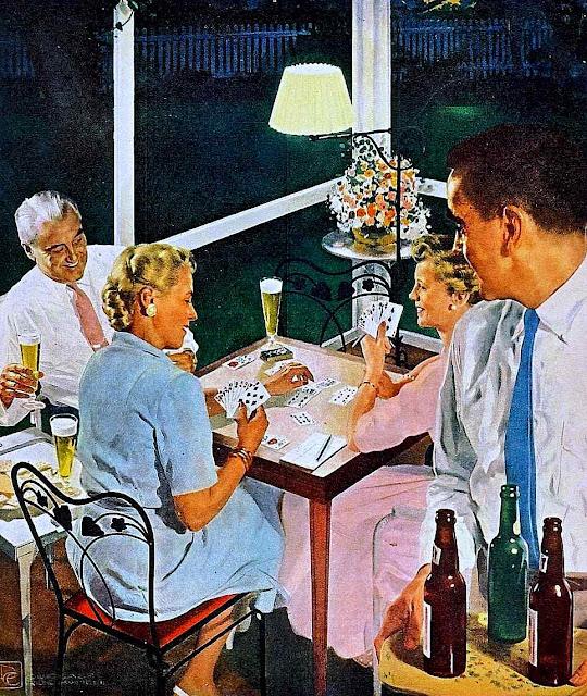 Douglas Crockwell illustration 1950s large