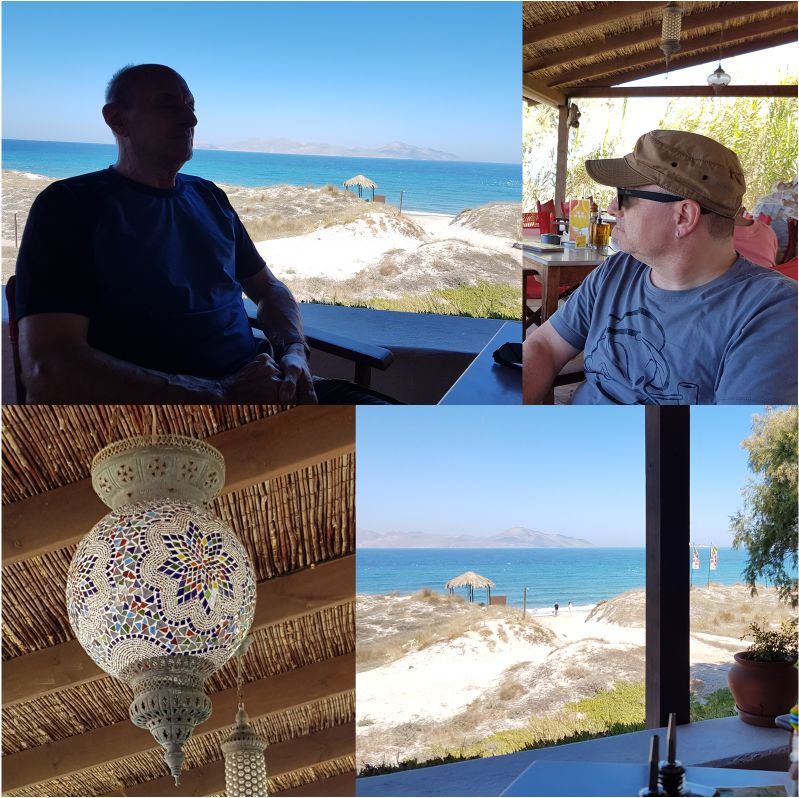 Tam-Tam-Bar an der Nordküste der Insel Kos