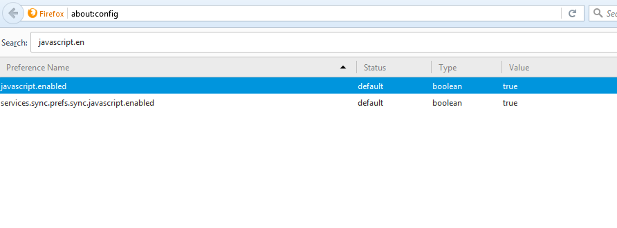How to enable disable javascript in firefox webpro education enable javascript ccuart Gallery