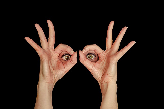 Eyes Looking Through Fingers: SEE Those Urges