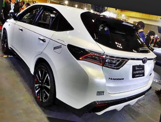 2018 Toyota Harrier Hybrid Price And Specs