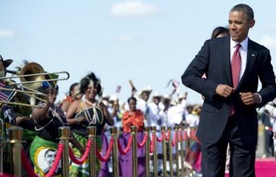 obama dancing in tanzania