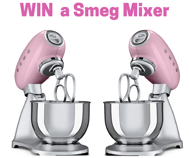 Enter to WIN a Smeg Stand Mixer ( Certain Provinces Only)