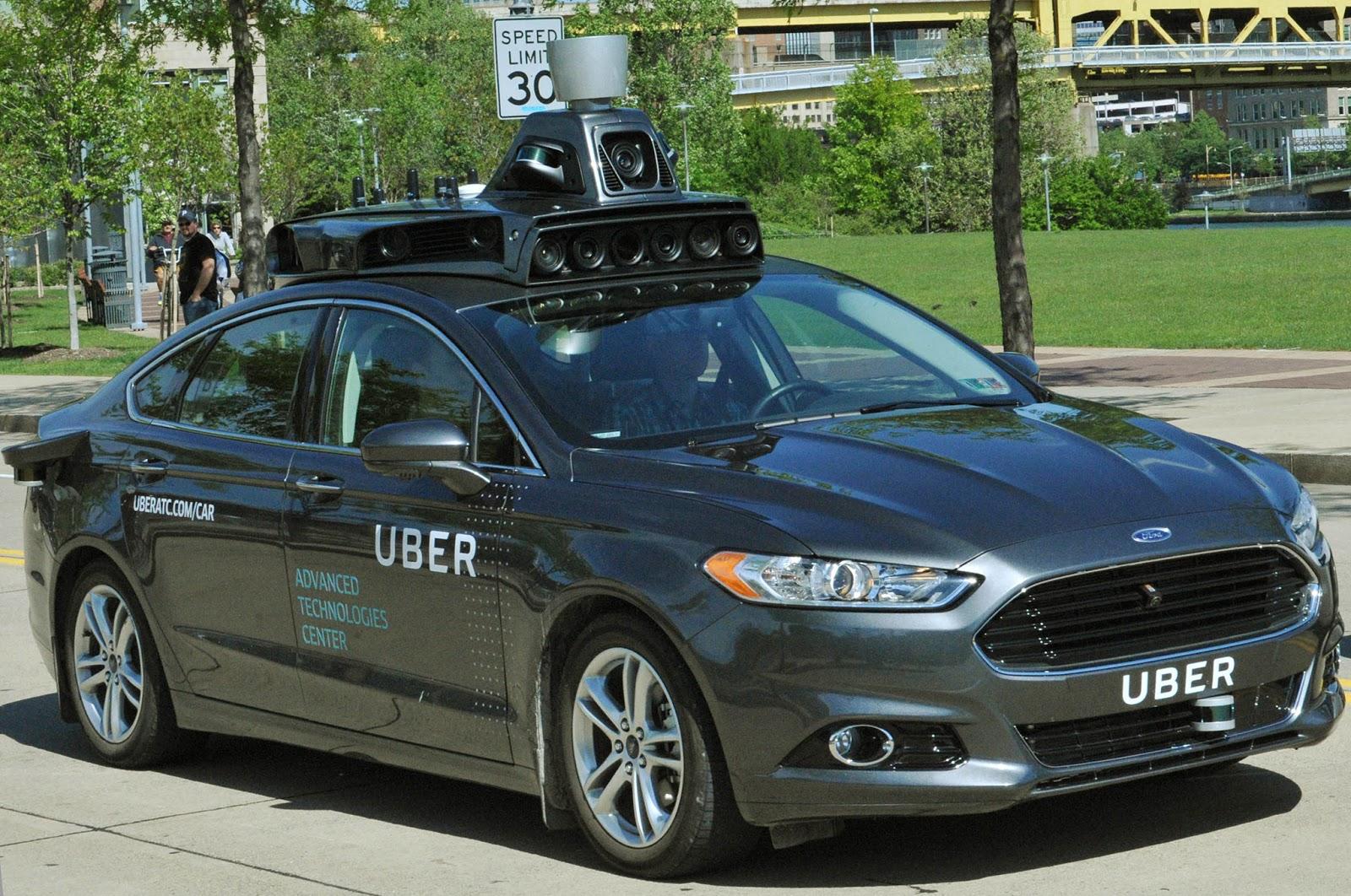 Xe tự lái của Uber