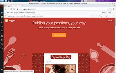 cara mudah membuat blog gratis pemula