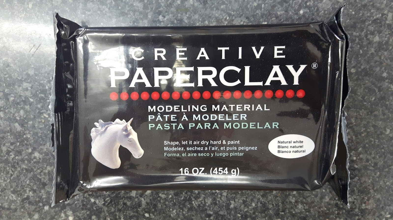 Creative Paperclay® air dry modeling material: Prince Light Switch ...