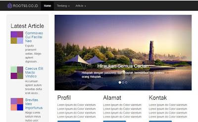 website cantik dengan drupal dan bootstrap