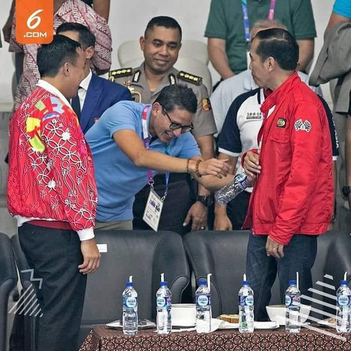 Benarkah Jokowi Tak Mau Salami Sandi?