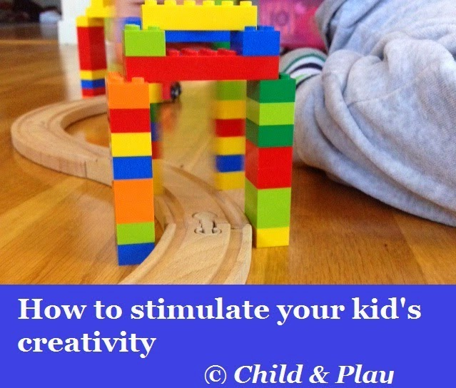 How to stimulate our kid's creativity