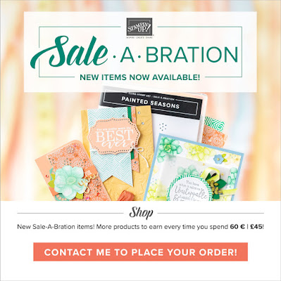 Stampin' Up! 2019 Second Release Sale-A-Bration Items. Order here from  Mitosu Crafts online shop