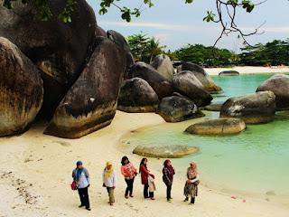 Wisata keluarga Belitung