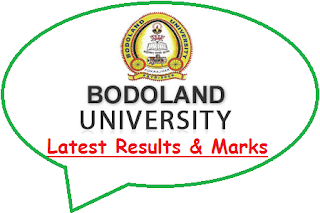 Bodoland University Results May June 2021