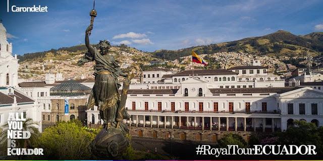 Mira aquí el documental #RoyalTourEcuador