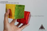 Jual alat sulap Shopping Bag Mini mengeluarkan kotak mini