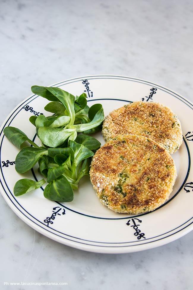 Fhiscake di merluzzo e patate