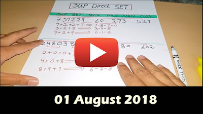 Thailand Lottery 3UP Set New Formula