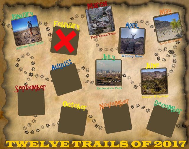Twelve Trails of 2017 - July
